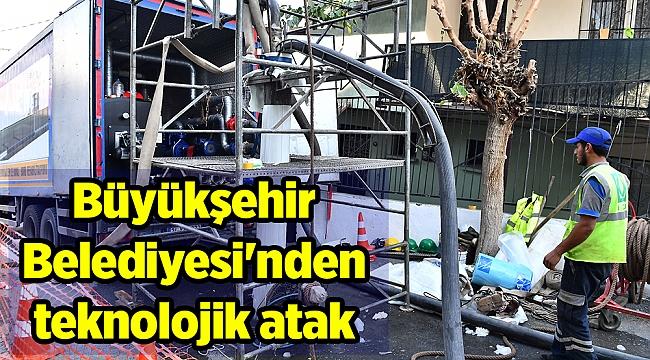 Büyükşehir Belediyesi'nden teknolojik atak