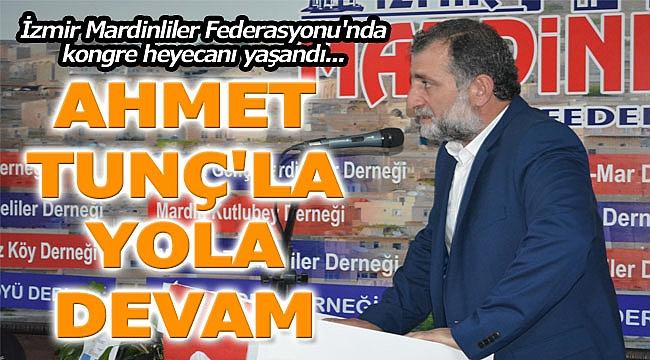 İMAF Ahmet Tunç İle 'devam' dedi