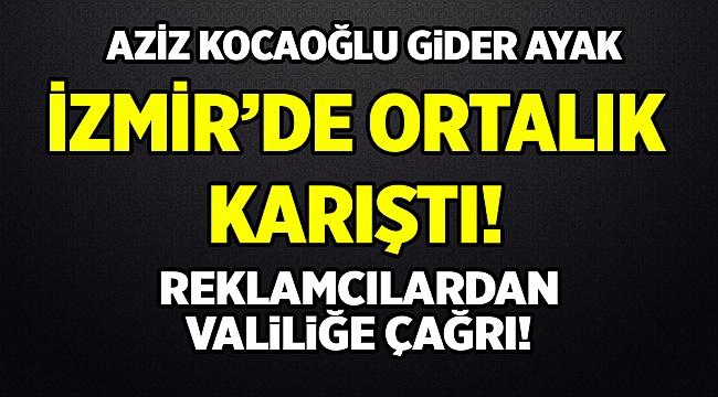 İzmir açık hava duvar reklamcılarından İzmir Valiliğine Çağrı