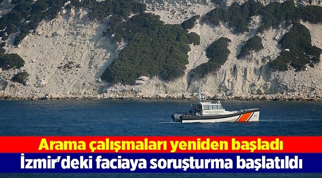 İzmir'deki faciaya soruşturma başlatıldı