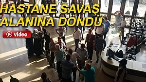 İzmir'deki Hastaneyi savaş alanına çevirdiler...