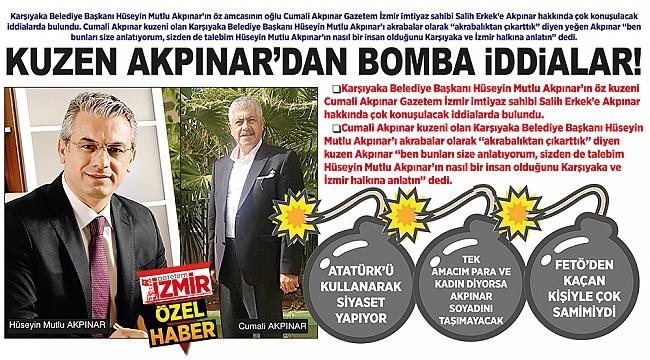 KUZEN AKPINAR'DAN BOMBA iDDiALAR!