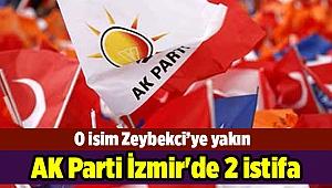 AK Parti İzmir'de 2 istifa