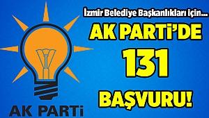 AK Parti İzmir'de belediye başkanlıklarına 131 başvuru