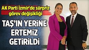 AK Parti İzmir'de sürpriz görev değişikliği