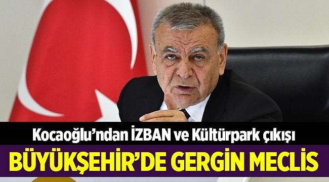 Başkan Kocaoğlu: Büyükşehir, İZBAN grevine müdahil olmayacak
