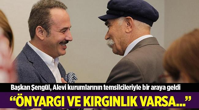 Başkan Şengül, Alevi kurumlarının temsilcileriyle bir araya geldi