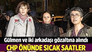 CHP önünde 'işimi geri istiyorum' eylemi