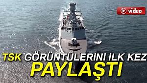 İşte Türkiye'nin 3'üncü milli savaş gemisi
