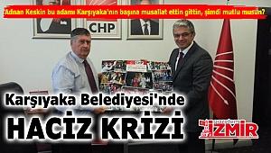 Karşıyaka Belediyesi'nde Haciz Krizi