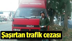 Şaşırtan trafik cezası
