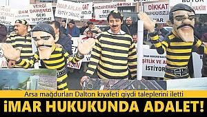 Arsa mağdurlarından CHP'ye Daltonlu tepki