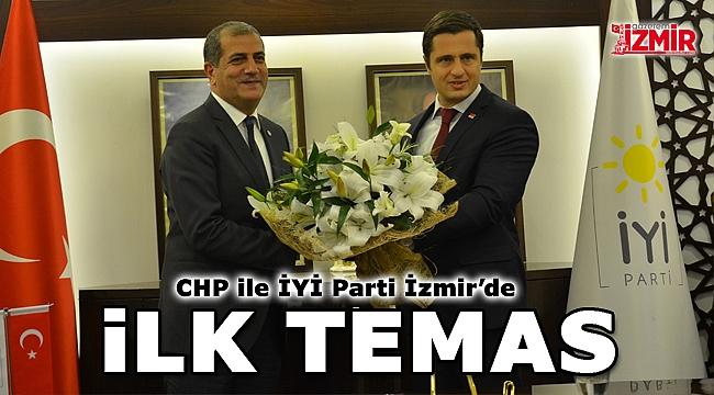 CHP ile İYİ Parti İzmir'de ilk temas