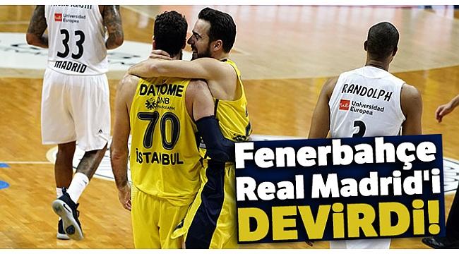 Fenerbahçe Beko, Real Madrid'i devirdi