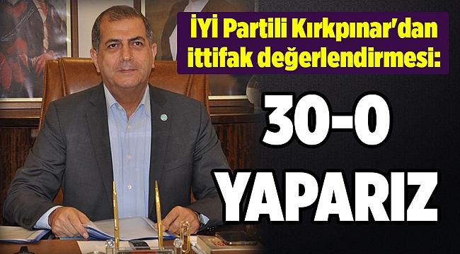 İYİ Partili Kırkpınar'dan ittifak değerlendirmesi: Herkes bir oh çekti