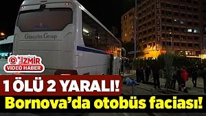 İzmir'de otobüs yayaların içine daldı...