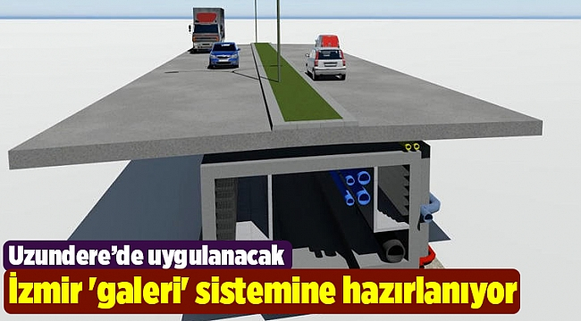 İzmir 'galeri' sistemine hazırlanıyor