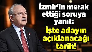 İzmir'in merak ettiği soruya yanıt: İşte adayın açıklanacağı tarih!