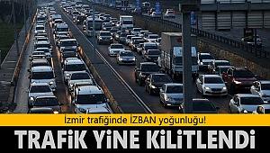 İzmir trafiğinde İZBAN yoğunluğu!