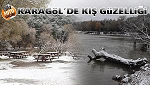 Karagöl'de Kış Güzelliği