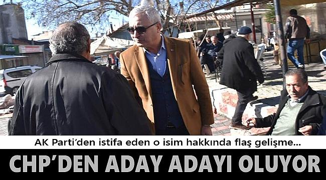 Kemalpaşa'da Mehmet Türkmen CHP'den aday oluyor...