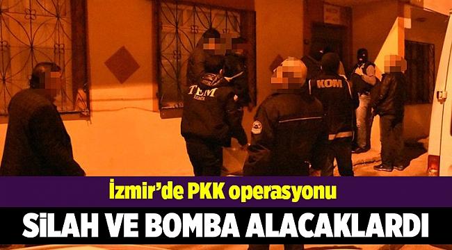 PKK'ya silah ve bomba almak için para toplamışlar