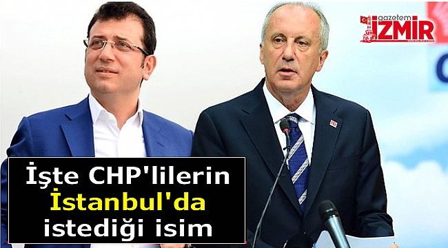 Ünlü Anketçiden Sürpriz Çıkış! CHP Seçmeni İstanbul'da O İsmi İstiyor