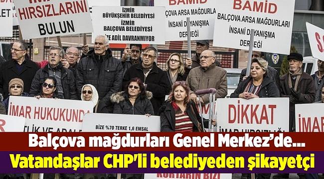 Vatandaşlar CHP'li belediyeden şikayetçi