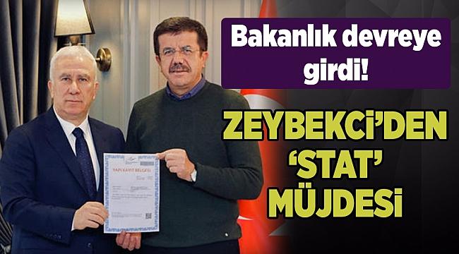 Zeybekci'den Dünya Karşıyakalılar Günü'nde 'stat' müjdesi