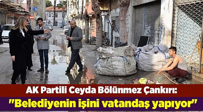 AK Partili Ceyda Bölünmez Çankırı: