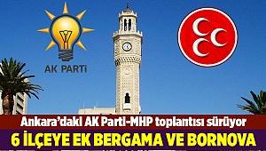 Ankara'daki AK Parti-MHP toplantısı sürüyor