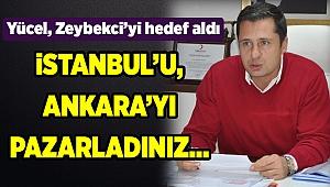 """CHP'li Deniz Yücel:"""" İzmir'in pazarlanmasına izin vermeyeceğiz"""""""