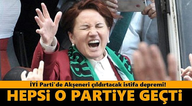 İYİ Parti'de istifa depremi! Hepsi o partiye katıldı