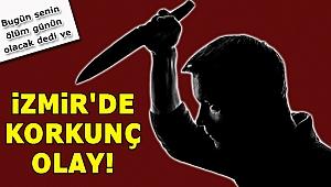 İzmir'de bir kişi eşini 14 kez bıçakladı