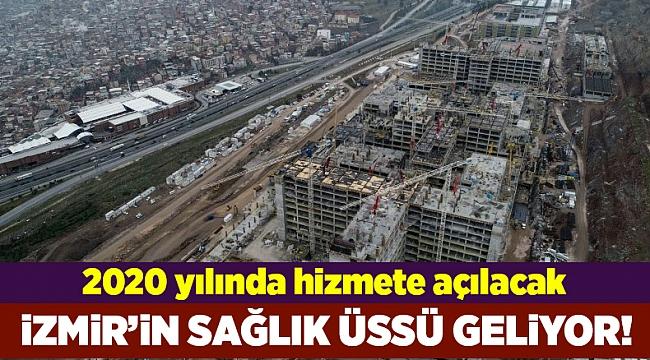 İzmir'de sağlık üssü yükseliyor
