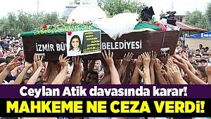 İzmir'i sarsan davada karar verildi