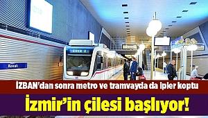 İzmir'in çilesi başlıyor!İZBAN'dan sonrametrove tramvayda da ipler koptu