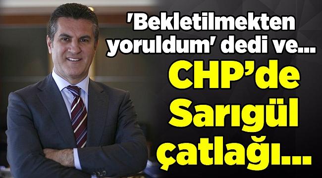 Mustafa Sarıgül istifa etti... 'Bekletilmekten yoruldum' dedi