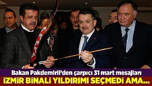 Pakdemirli: İzmir Yıldırım'ı seçmedi ama...