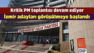 PM'de İzmir adayları görüşülmeye başlandı