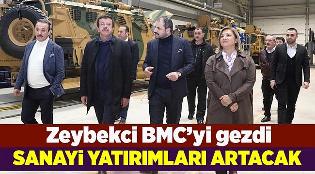 Zeybekci: İzmir'de sanayi yatırımları artacak