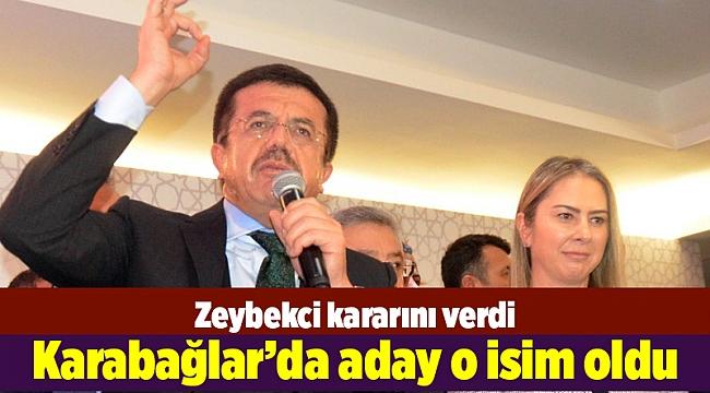 Zeybekci kararını verdi...Karabağlar'da aday o isim oldu
