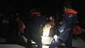 14'ü çocuk 44 kaçak göçmen yakalandı