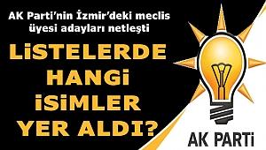 """AK Parti'nin İzmir'deki Meclis Üyesi Adayları Netleşti: """"Listede Kimler Yer Aldı?"""""""