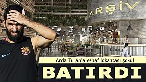 Arda Turan'a esnaf lokantası şoku! Zincir haline getirmeyi planlıyordu