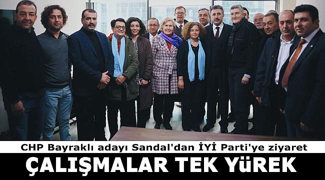 Bayraklı'da CHP ve İYİ Parti tek yürek