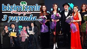 Bizim İzmir Magazin Dergisi 3 yaşında…