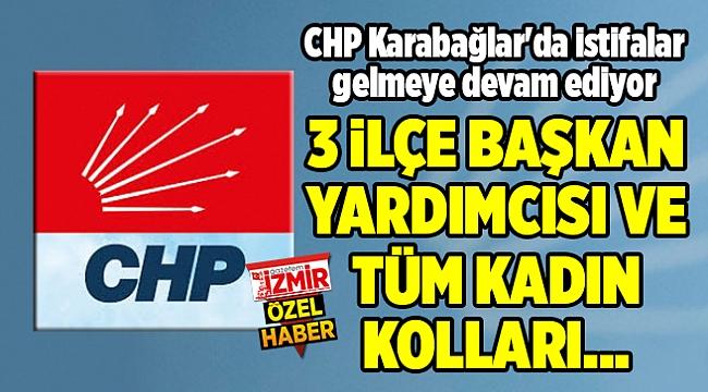 CHP Karabağlar'da istifalar gelmeye devam ediyor