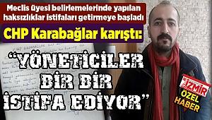 CHP Karabağlar karıştı: