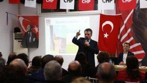 CHP'nin Bayraklı adayı Sandal, vizyon projesini açıkladı